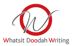 Whatsit Doodah Writing – Copywriting Hull Mobile Logo